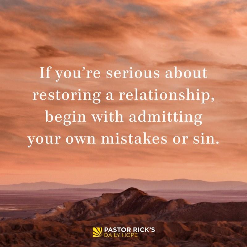 03-04-18-Broken-Relationships-Restoring-Relationships-Defuse-Anger-With-Confession