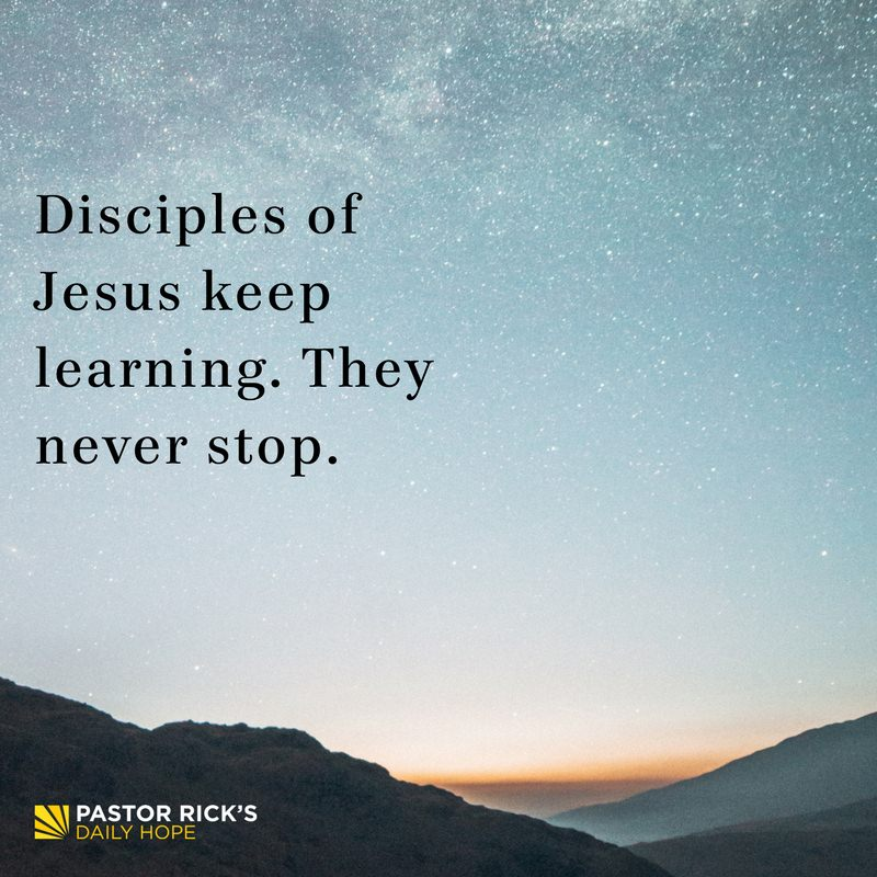 10-04-17-Unshakeable-Disciples-Of-Jesus-Never-Stop-Learning