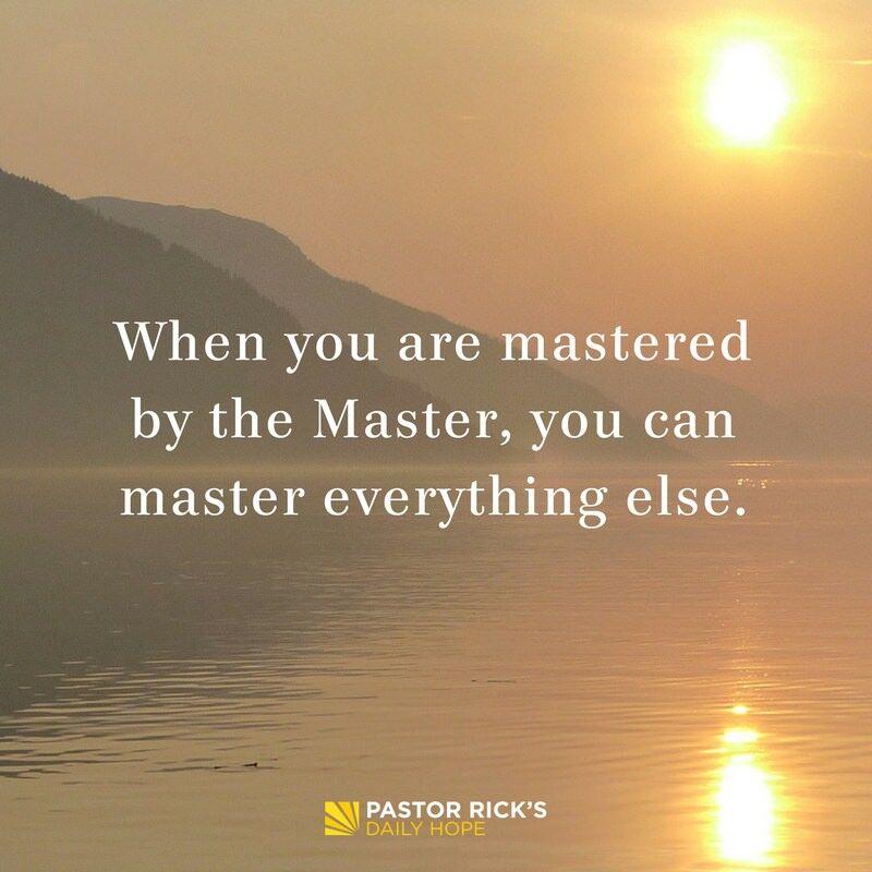 Purpose Driven Life Daily Devotional